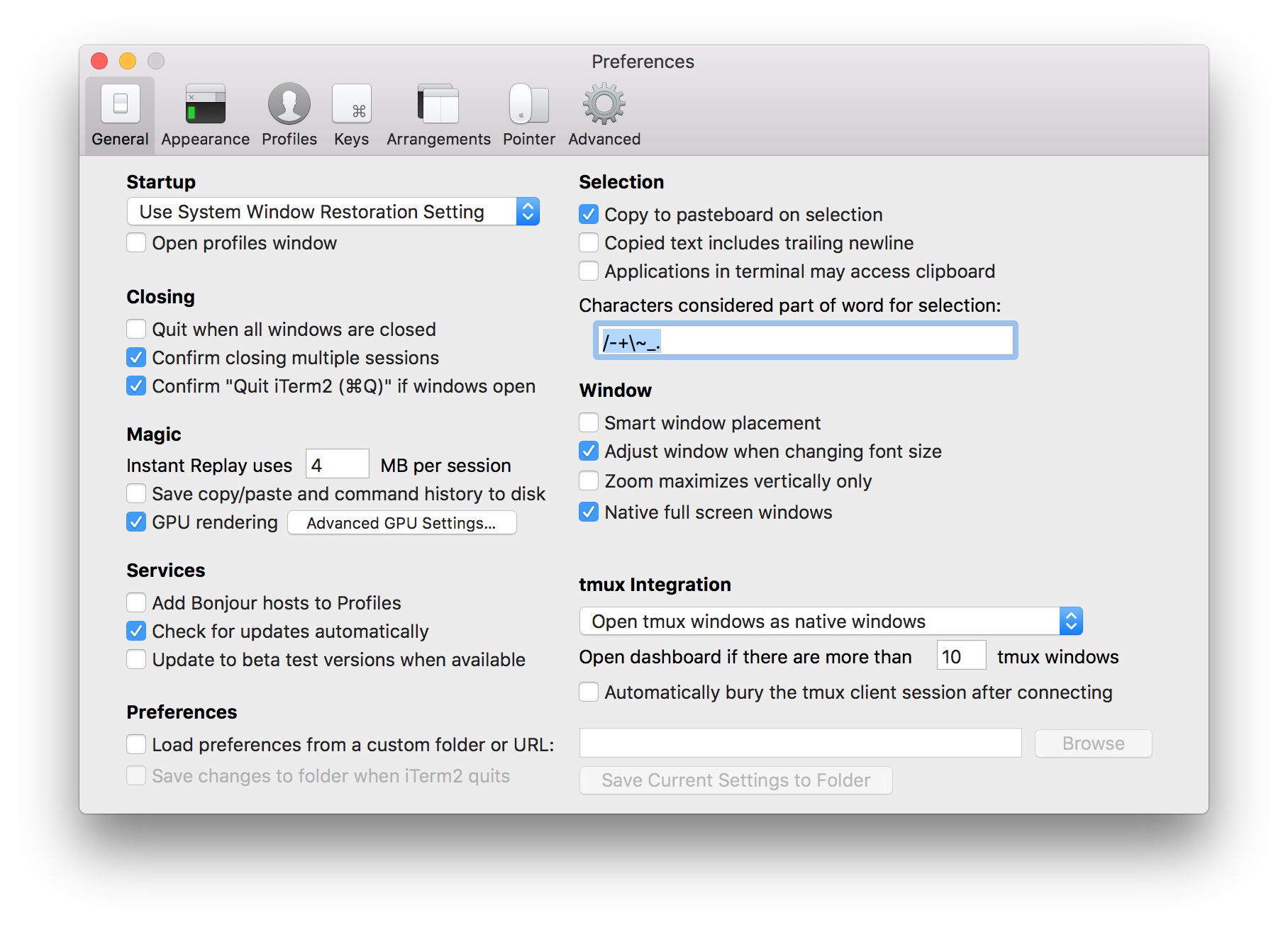 Making the Alt Key Work in iTerm2 · clairecodes
